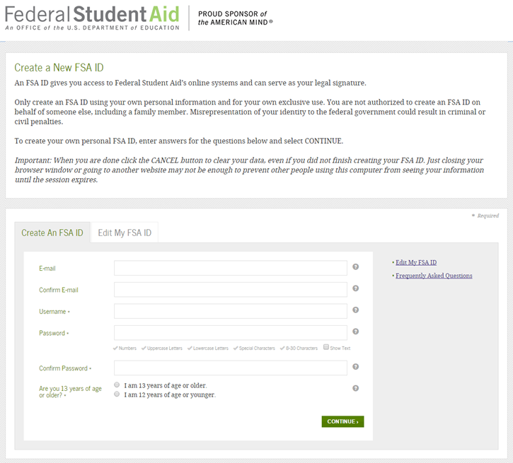 Financing Higher Education: Financial Aid Process