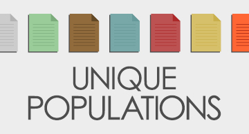 Unique Populations