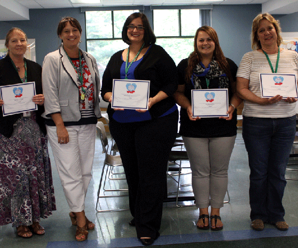 Jun. 2015 - Mini Grant Recipients