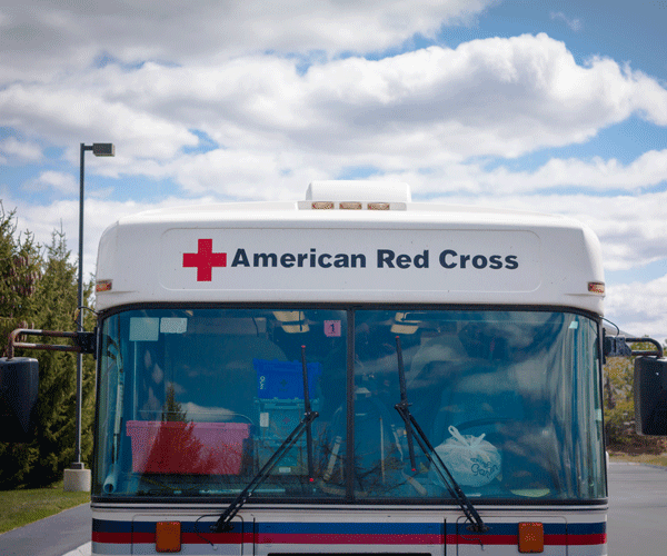 May 2016 - Blood Drive Bus